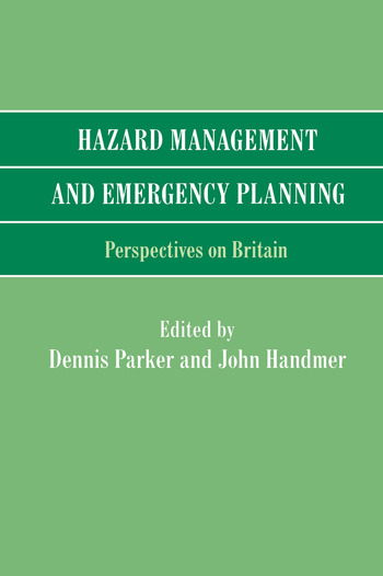 Hazard Management and Emergency Planning Perspectives in Britain book cover