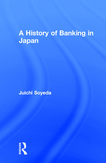 A History of Banking in Japan book cover