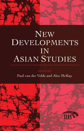 New Developments in Asian Studies book cover