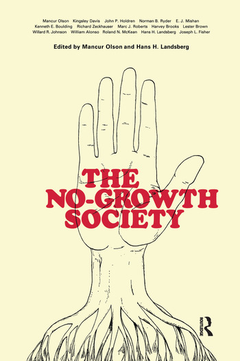 The No-Growth Society book cover