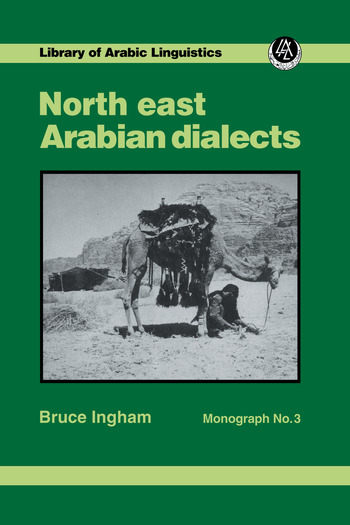 North East Arabian Dialects Mono book cover