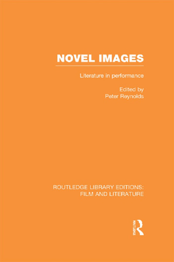 Novel Images Literature in Performance book cover