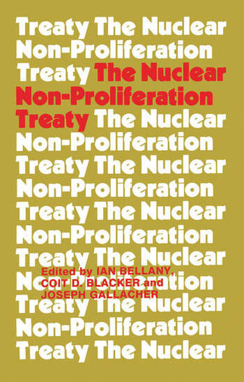 The Nuclear Non-proliferation Treaty book cover