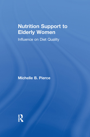 Nutrition Support to Elderly Women Influence on Diet Quality book cover
