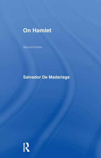 On Hamlet book cover