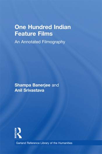 One Hundred Indian Feature Films An Annotated Filmography book cover