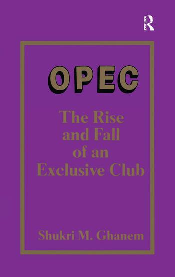 Opec book cover