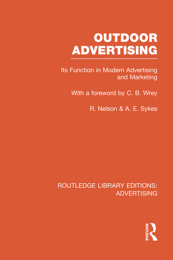 Outdoor Advertising book cover