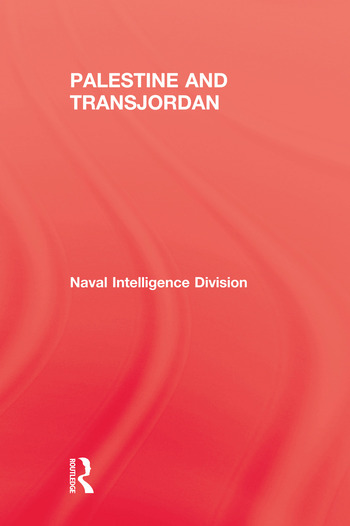 Palestine & Transjordan book cover
