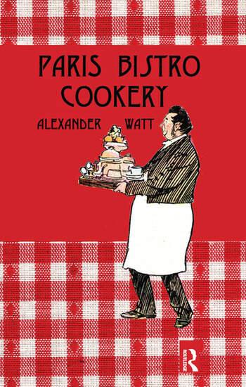 Paris Bistro Cookery book cover