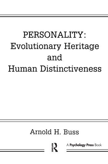 Personality: Evolutionary Heritage and Human Distinctiveness book cover