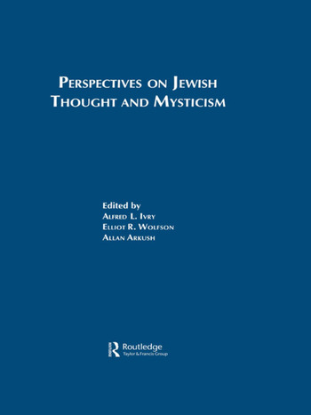 Perspectives on Jewish Though book cover