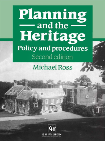 Planning and the Heritage Policy and procedures book cover