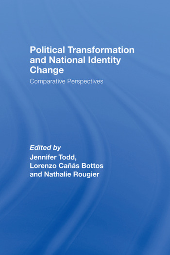 Political Transformation and National Identity Change Comparative Perspectives book cover