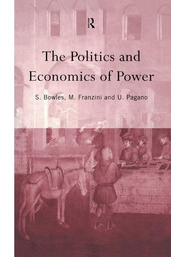 The Politics and Economics of Power book cover