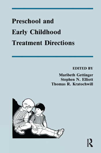 Preschool and Early Childhood Treatment Directions book cover