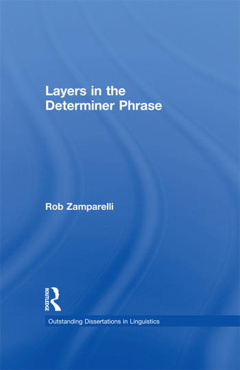 Layers in the Determiner Phrase book cover
