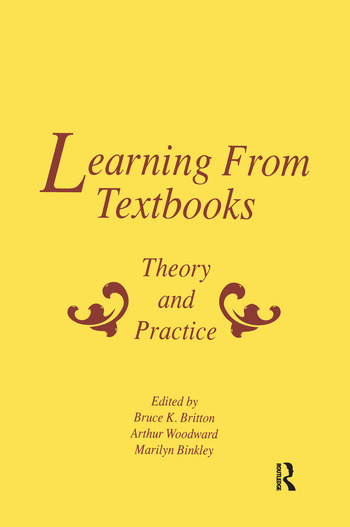 Learning From Textbooks Theory and Practice book cover