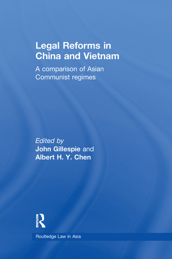 Legal Reforms in China and Vietnam A Comparison of Asian Communist Regimes book cover