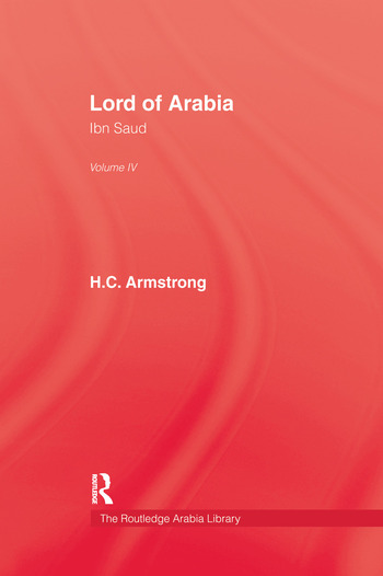Lord Of Arabia V4 book cover
