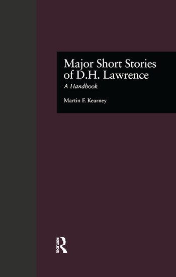 Major Short Stories of D.H. Lawrence A Handbook book cover
