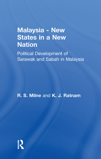 Malaysia: New States in a New Nation New States in a New Nation book cover