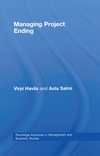 Managing Project Ending book cover