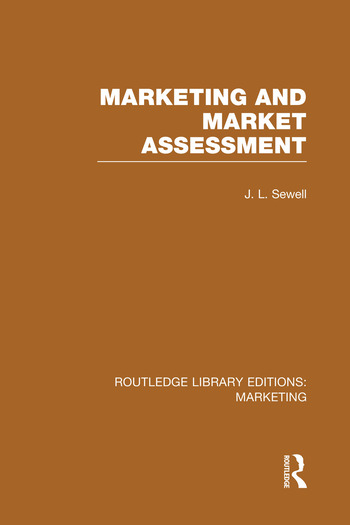Marketing and Marketing Assessment (RLE Marketing) book cover