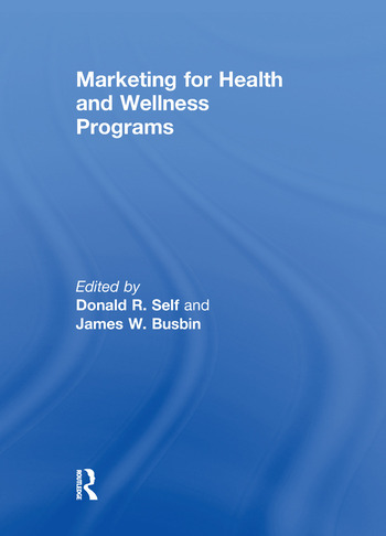 Marketing for Health and Wellness Programs book cover