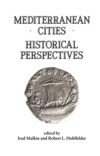 Mediterranean Cities Historical Perspectives book cover