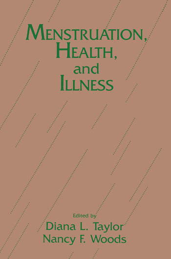 Menstruation, Health And Illness book cover