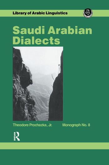 Saudi Arabian Dialects book cover