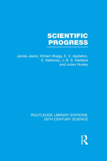 Scientific Progress book cover