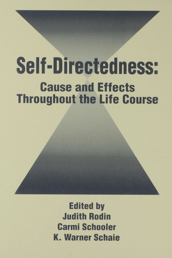 Self Directedness Cause and Effects Throughout the Life Course book cover