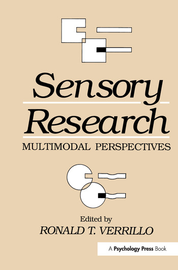Sensory Research Multimodal Perspectives book cover