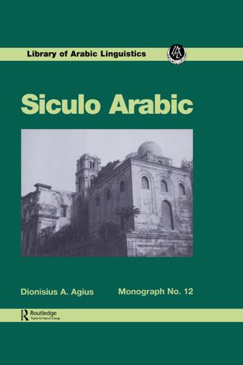 Siculo Arabic book cover
