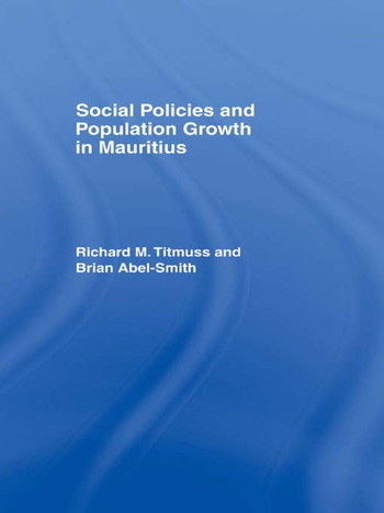 Social Policies and Population Growth in Mauritius book cover