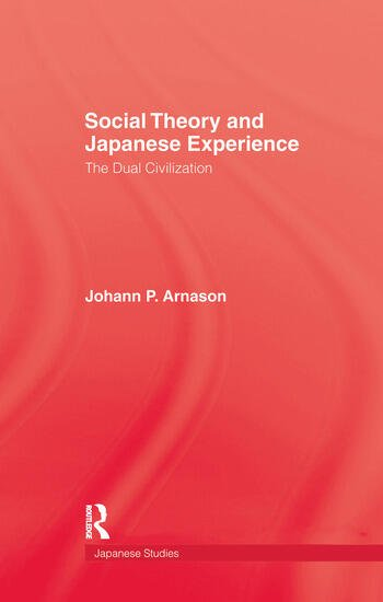 Social Theory & Japanese Experie book cover