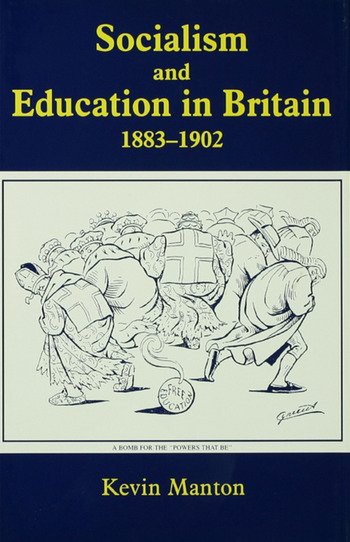 Socialism and Education in Britain 1883-1902 book cover