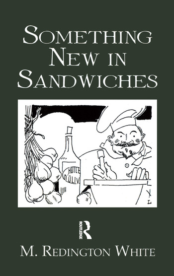 Something New In Sandwiches book cover