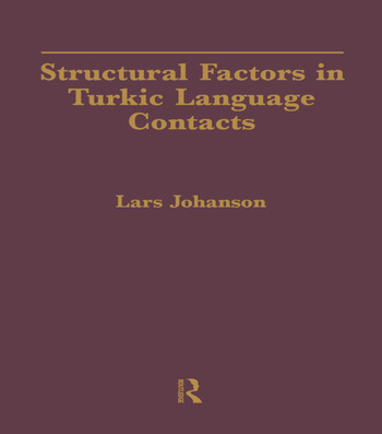Structural Factors in Turkic Language Contacts book cover