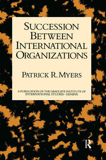 Succession Between Internl Organ book cover