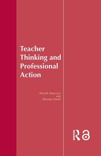 Teacher Thinking & Professional Action book cover