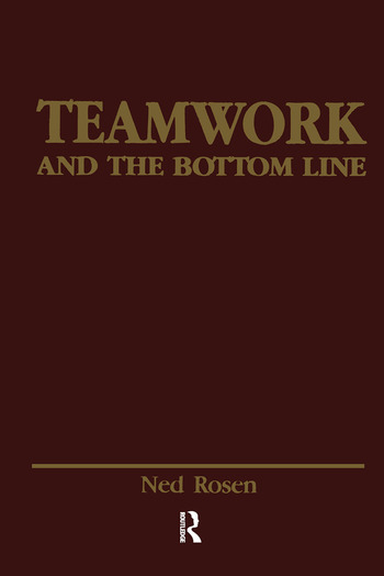 Teamwork and the Bottom Line Groups Make A Difference book cover