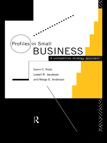 Profiles in Small Business A Competitive Strategy Approach book cover