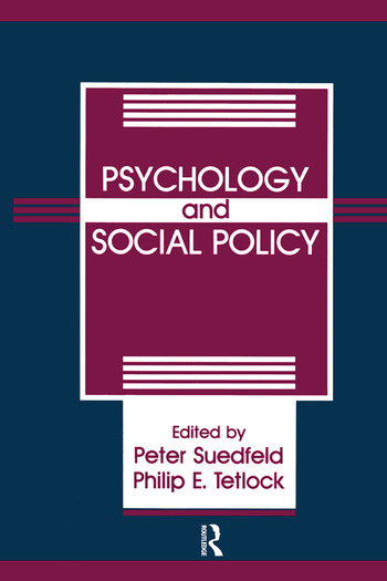 Psychology And Social Policy book cover