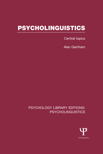 psycholinguistics in schools Looking for top linguistics schools in pennsylvania find linguistics degrees, courses, certificates, and more.
