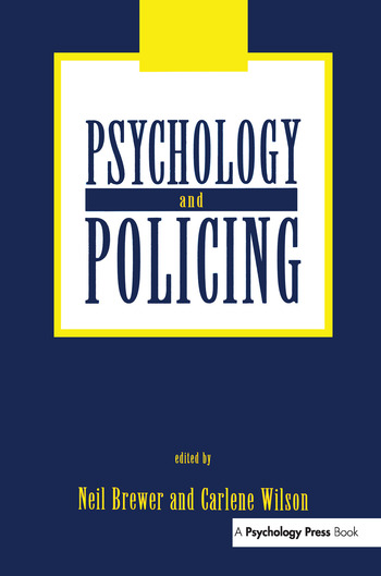 Psychology and Policing book cover