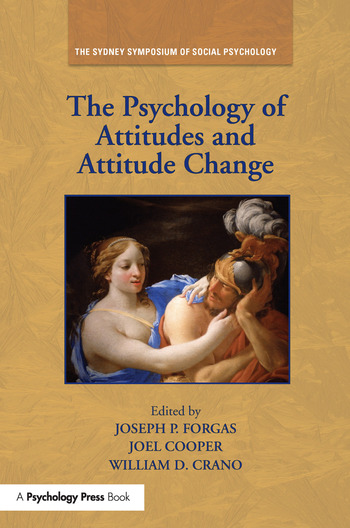 The Psychology of Attitudes and Attitude Change book cover