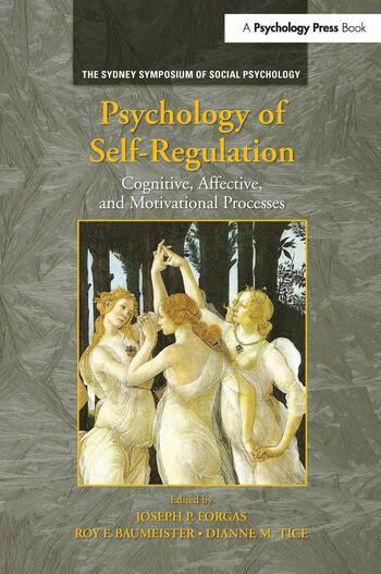 Psychology of Self-Regulation Cognitive, Affective, and Motivational Processes book cover